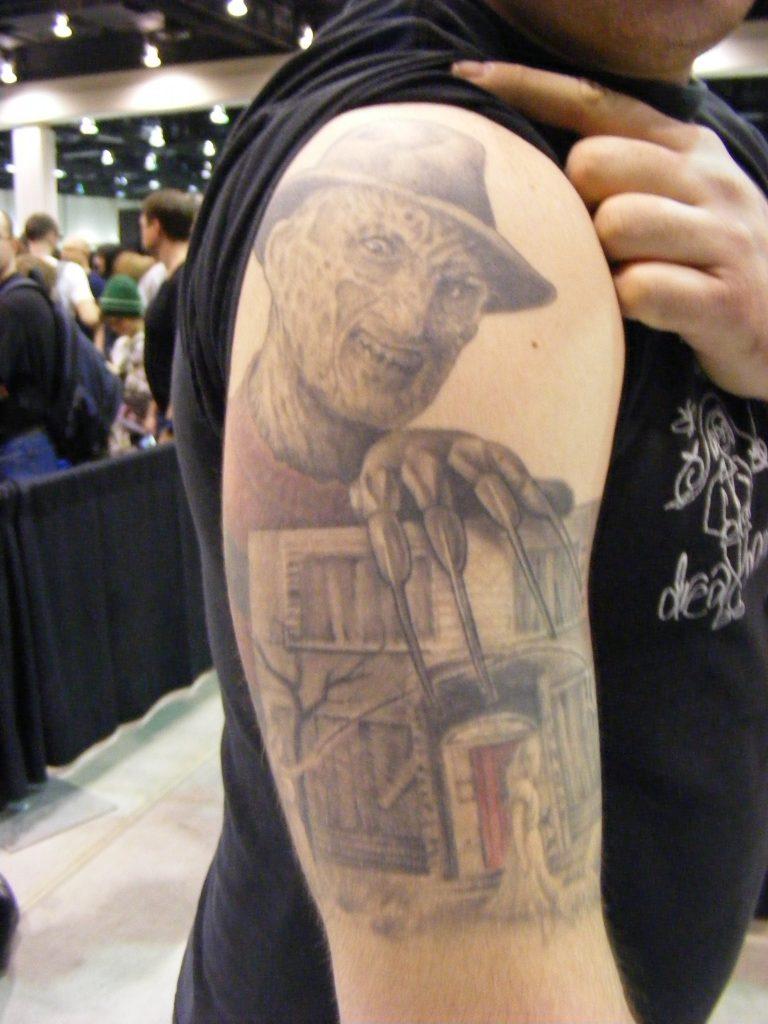 Robert Englund Tattoo Archive 293