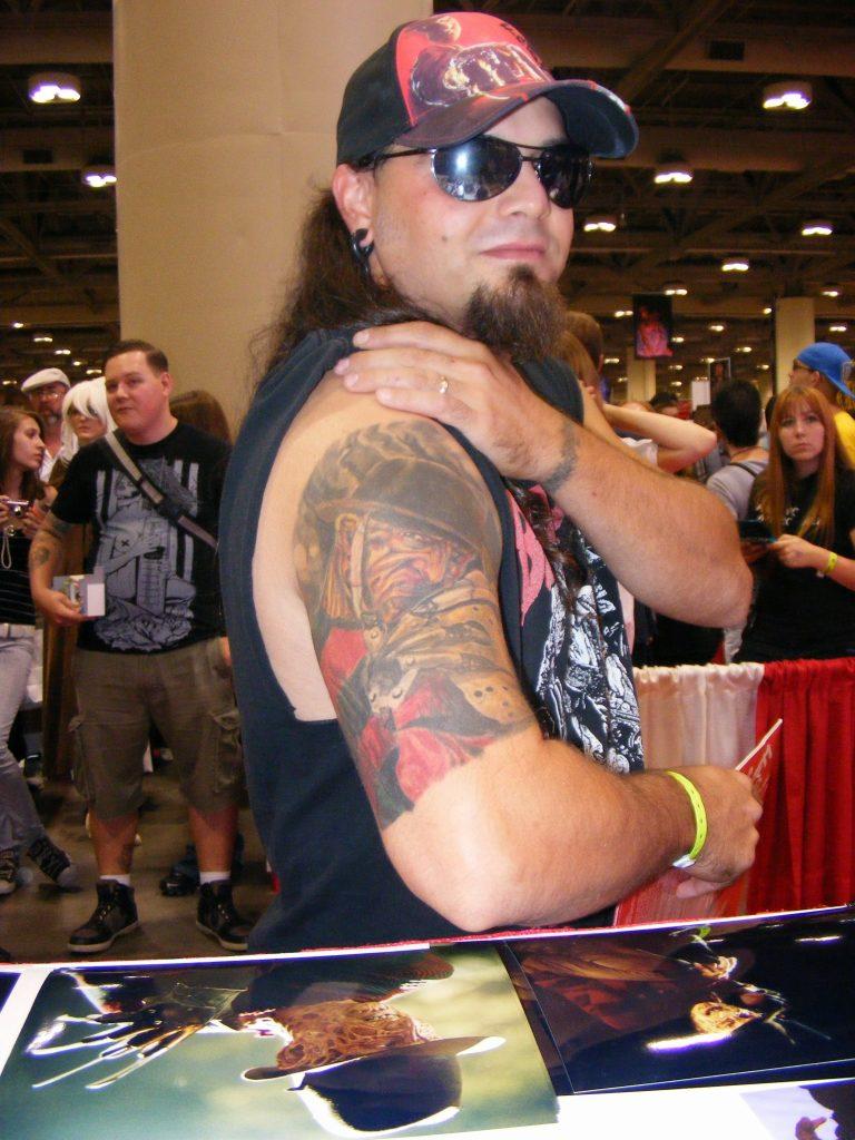 Robert Englund Tattoo Archive 291