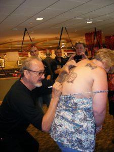 Robert Englund Tattoo Archive 292