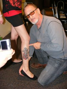 Robert Englund Tattoo Archive 294