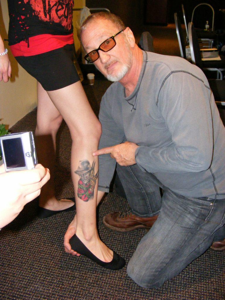 Robert Englund Tattoo Archive 294