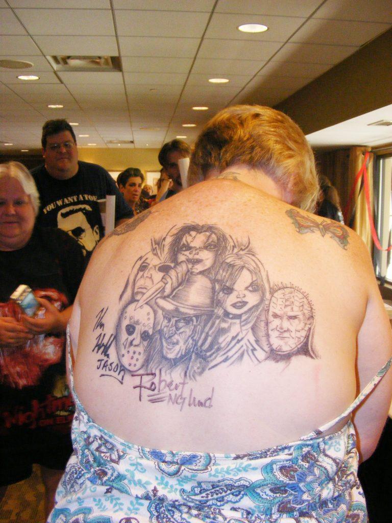 Robert Englund Tattoo Archive 295