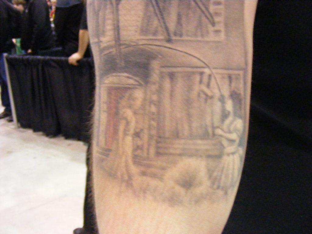 Robert Englund Tattoo Archive 299