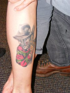 Robert Englund Tattoo Archive 297