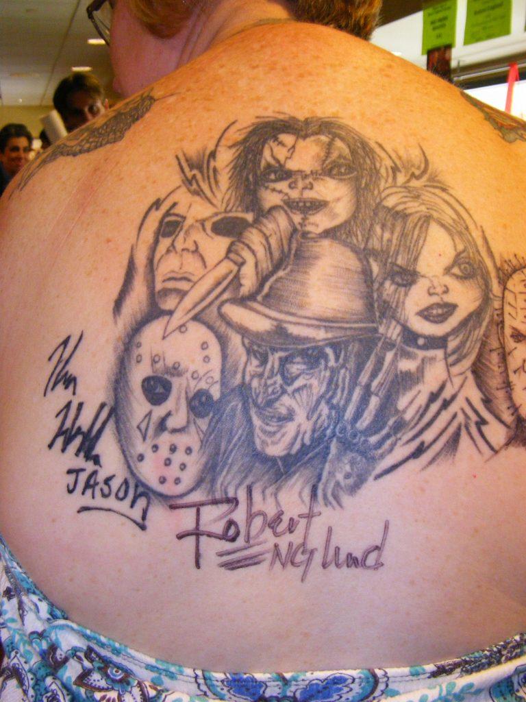 Robert Englund Tattoo Archive 298