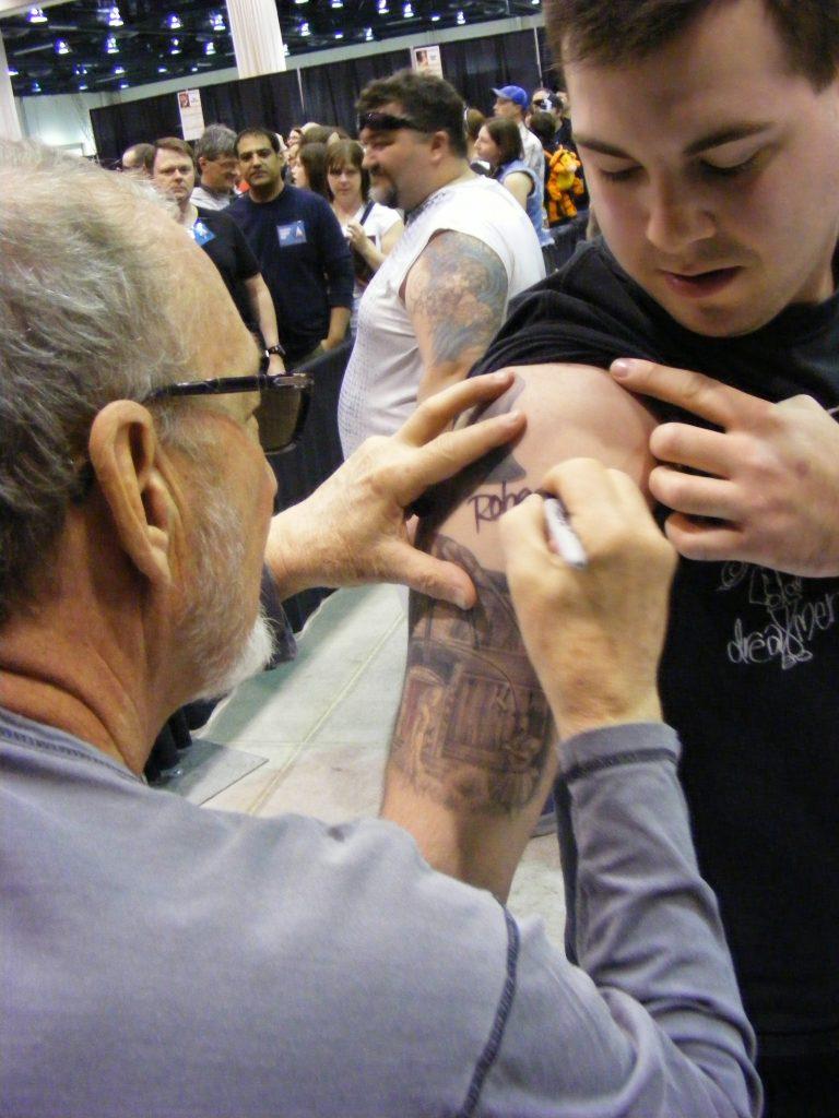 Robert Englund Tattoo Archive 303