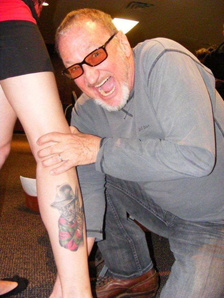 Robert Englund Tattoo Archive 300