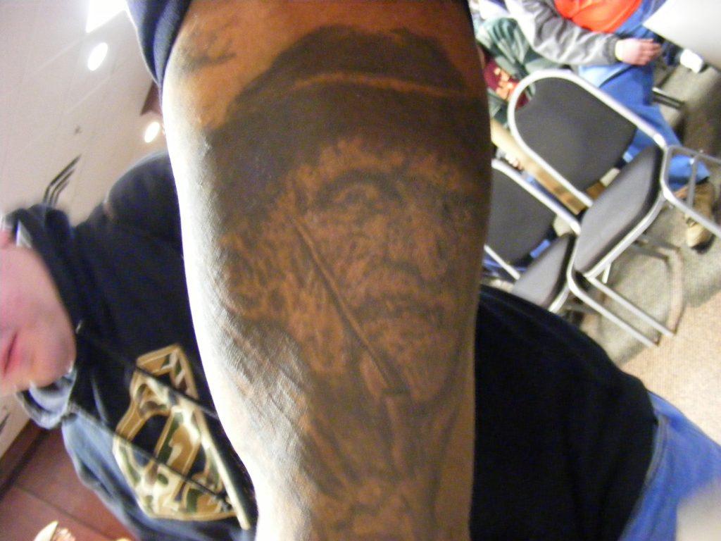 Robert Englund Tattoo Archive 307