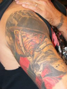 Robert Englund Tattoo Archive 304