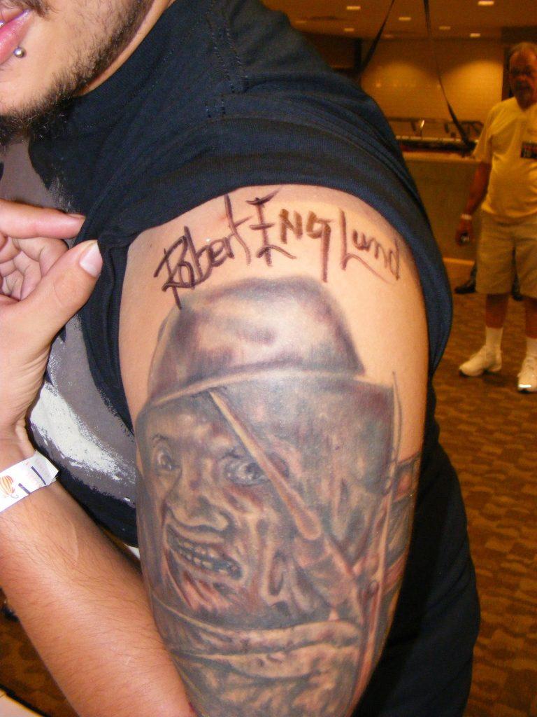Robert Englund Tattoo Archive 305