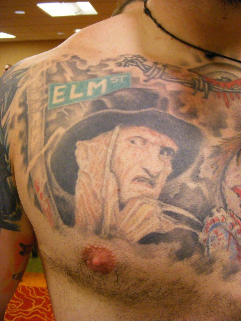 Robert Englund Tattoo Archive 306