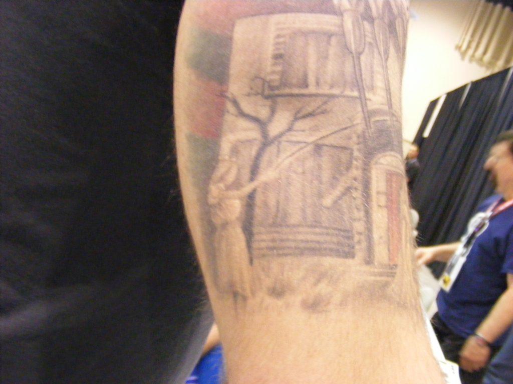 Robert Englund Tattoo Archive 311