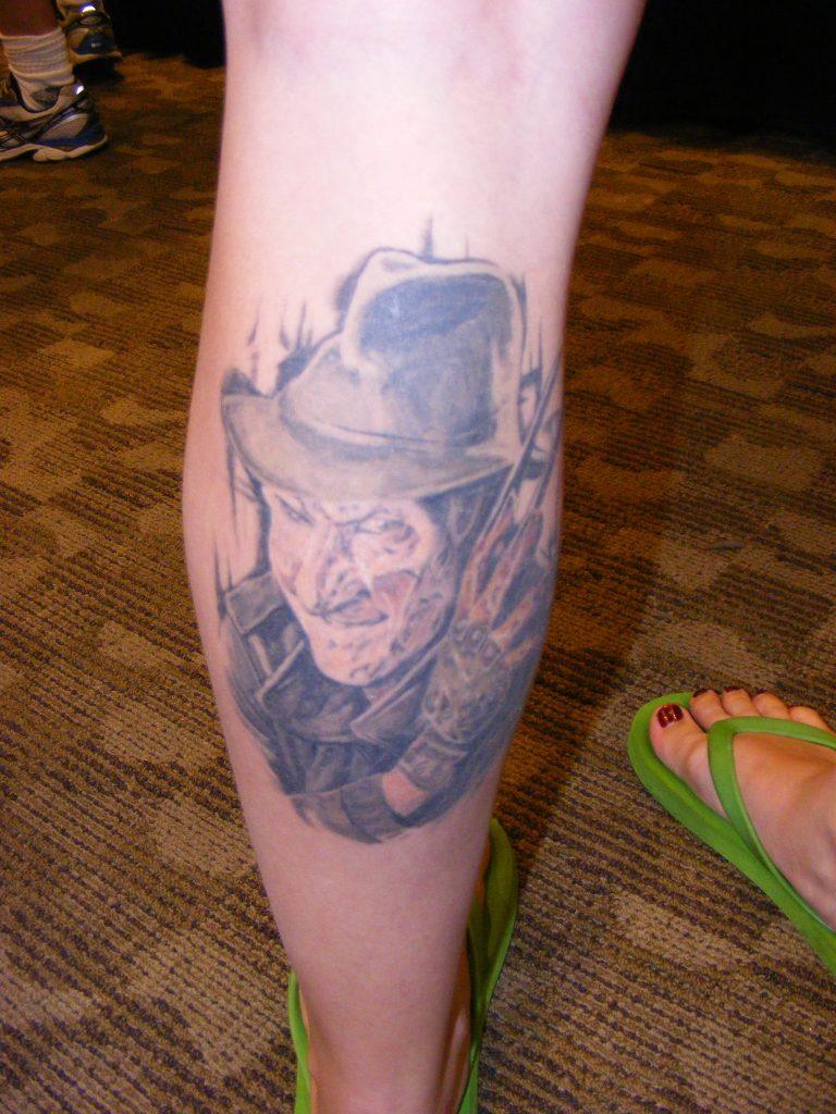 Robert Englund Tattoo Archive 309