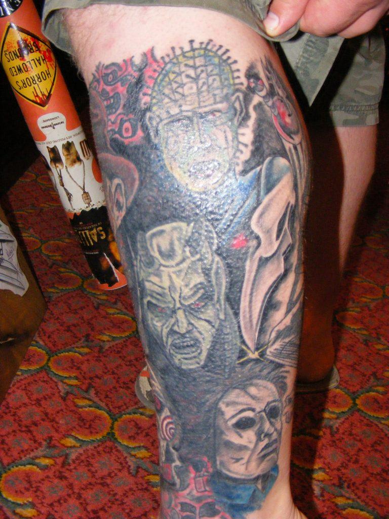 Robert Englund Tattoo Archive 310
