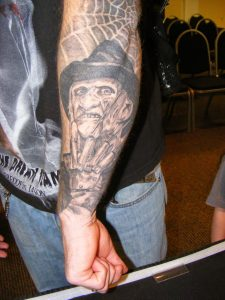 Robert Englund Tattoo Archive 312
