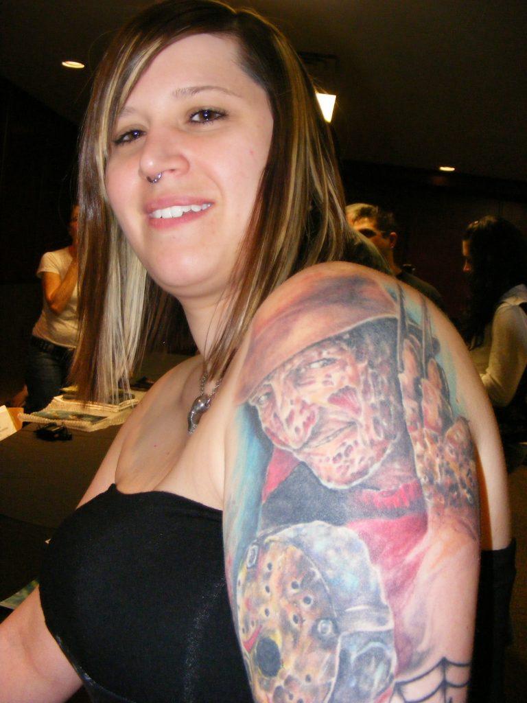 Robert Englund Tattoo Archive 319