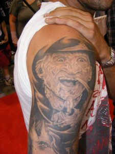 Robert Englund Tattoo Archive 317