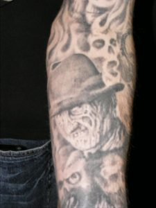 Robert Englund Tattoo Archive 322
