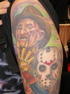 Robert Englund Tattoo Archive 329