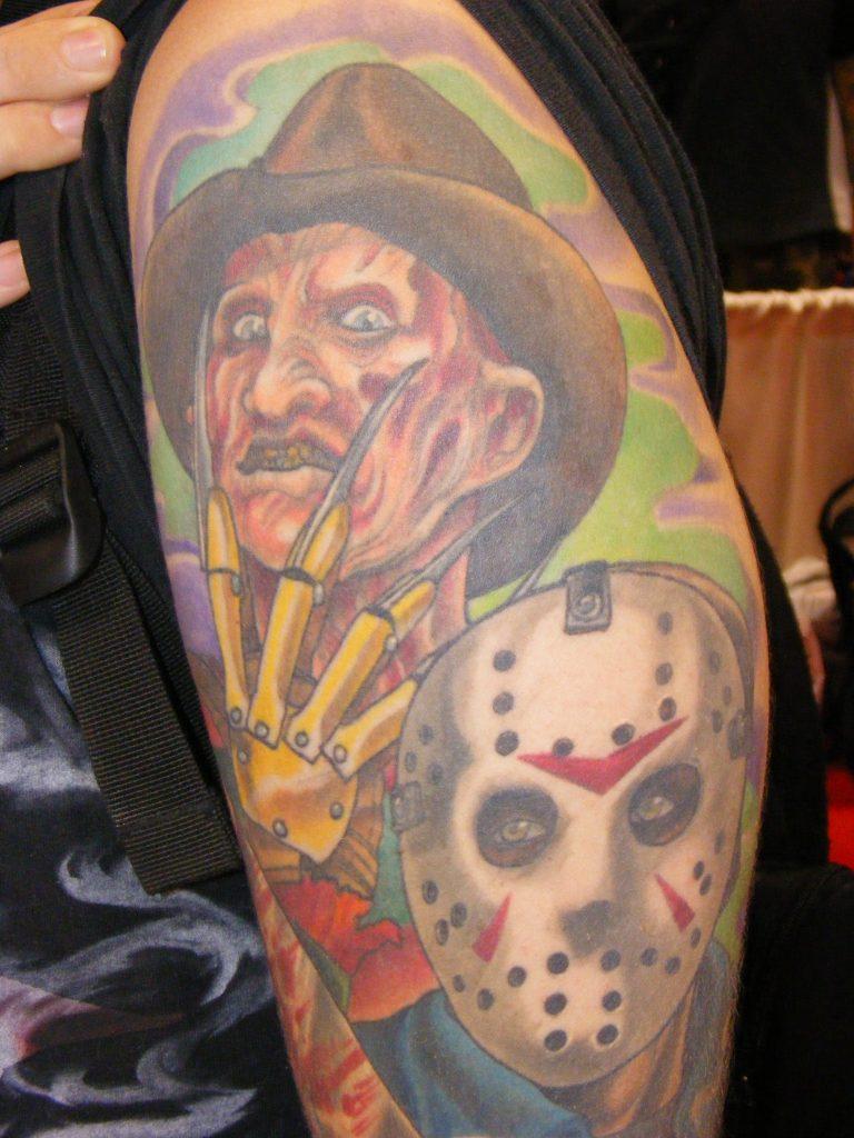 Robert Englund Tattoo Archive 329