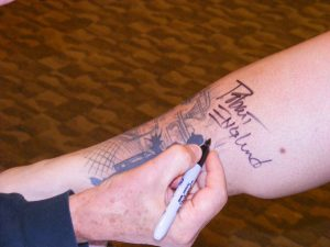 Robert Englund Tattoo Archive 328