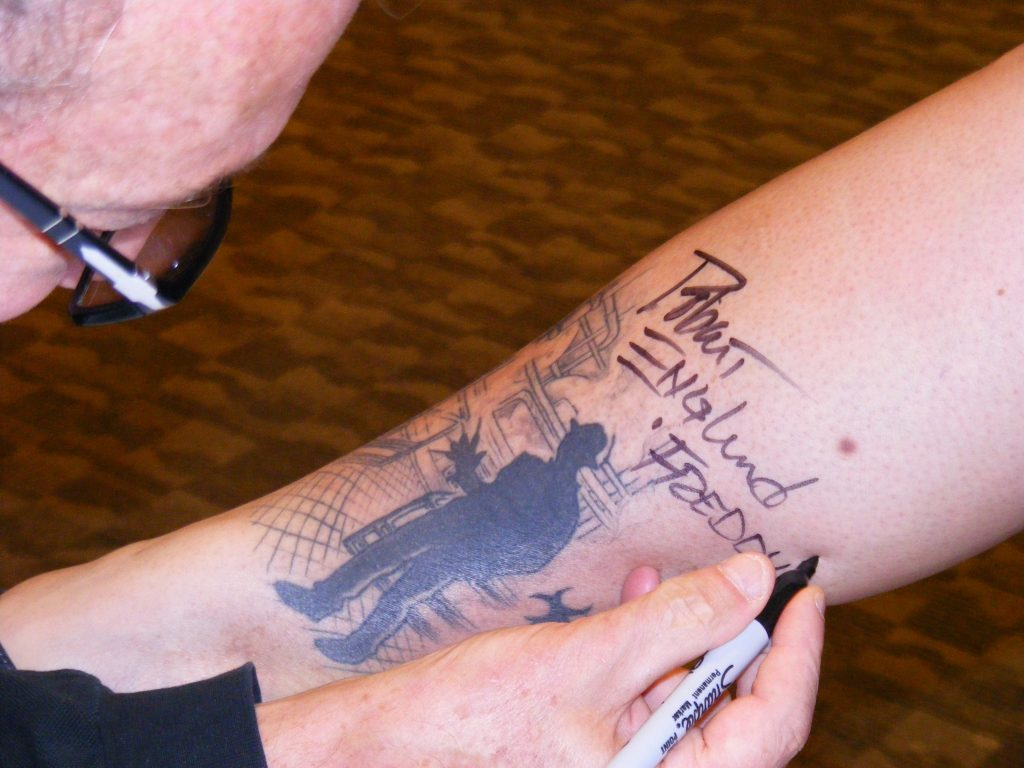 Robert Englund Tattoo Archive 330