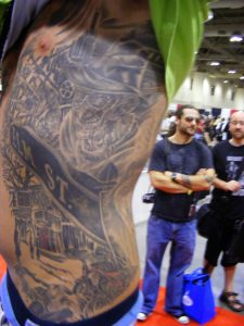 Robert Englund Tattoo Archive 333