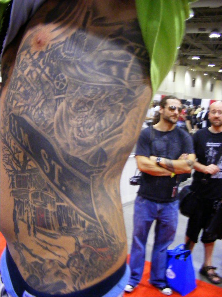 Robert Englund Tattoo Archive 333