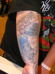 Robert Englund Tattoo Archive 334