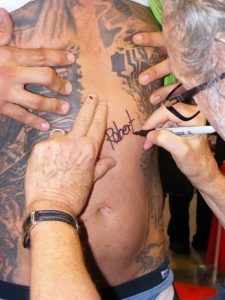 Robert Englund Tattoo Archive 336