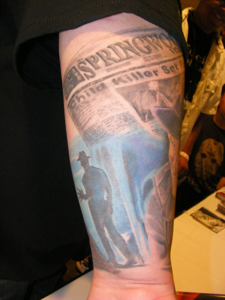 Robert Englund Tattoo Archive 335