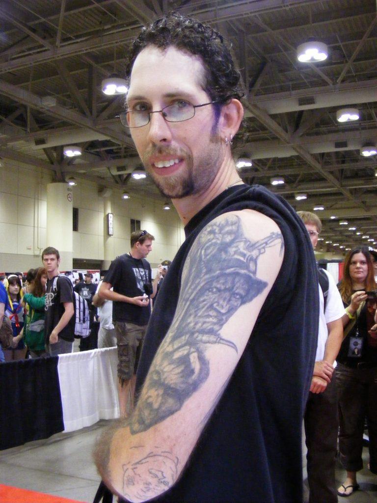 Robert Englund Tattoo Archive 339