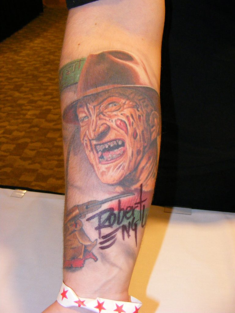 Robert Englund Tattoo Archive 340
