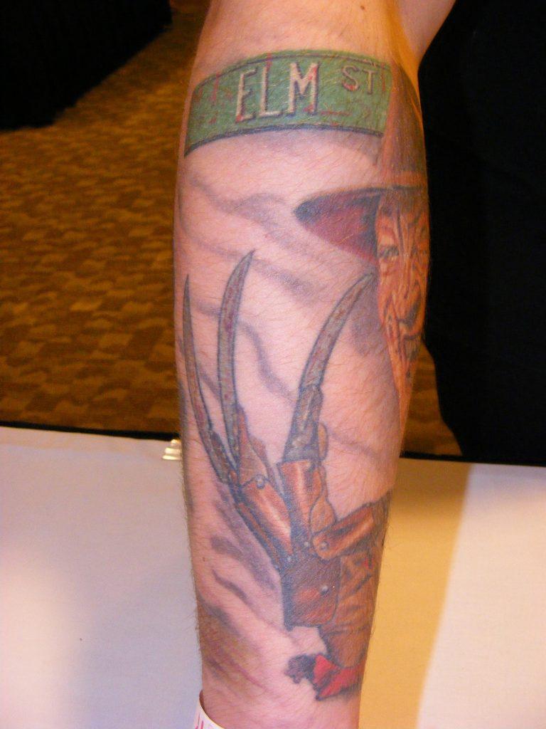Robert Englund Tattoo Archive 341