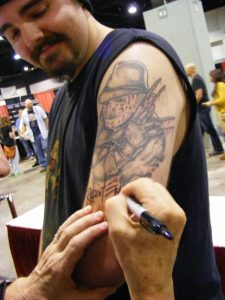 Robert Englund Tattoo Archive 344