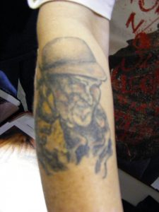 Robert Englund Tattoo Archive 347