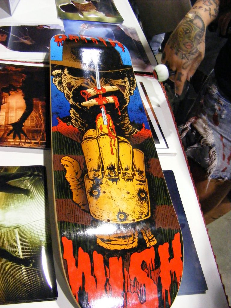 Robert Englund Tattoo Archive 357