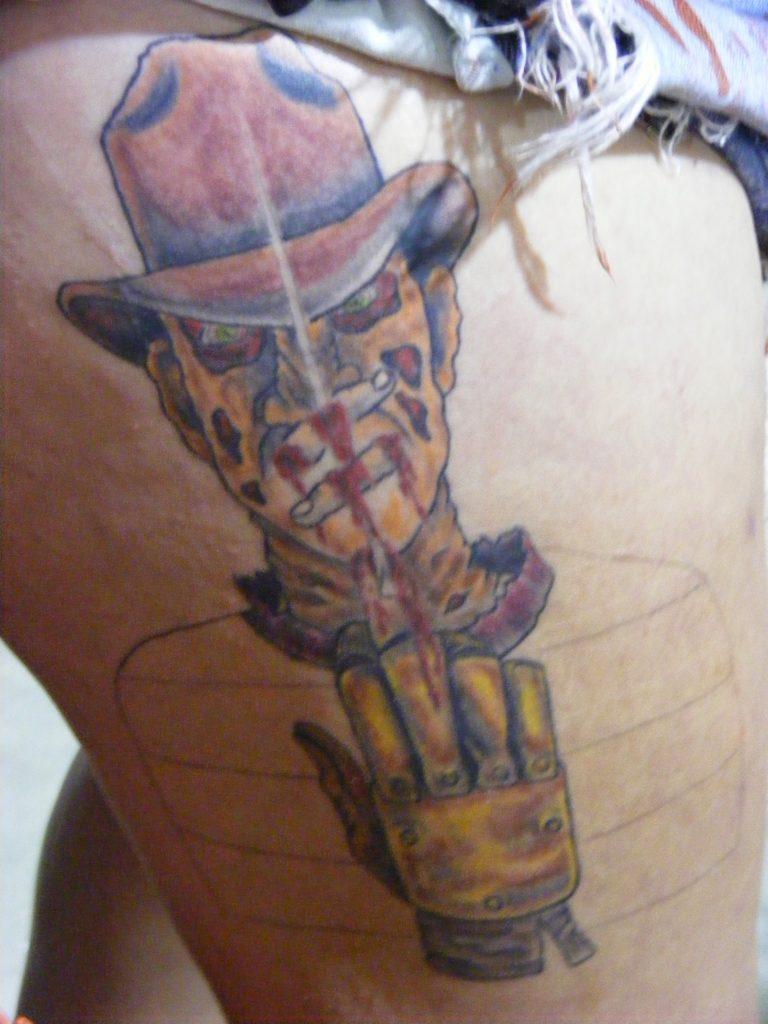 Robert Englund Tattoo Archive 359