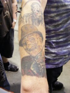 Robert Englund Tattoo Archive 361
