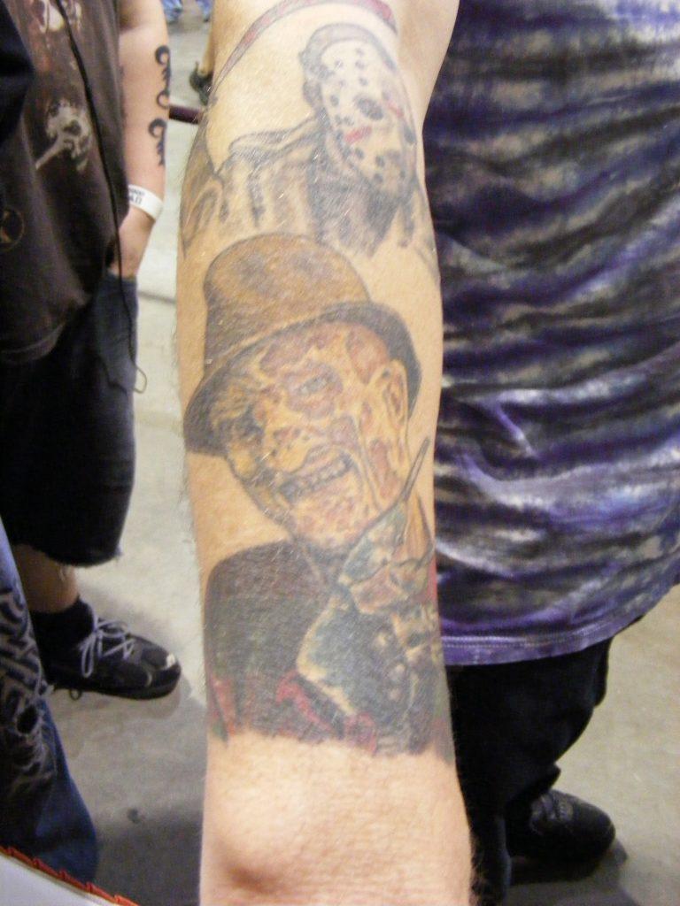 Robert Englund Tattoo Archive 361