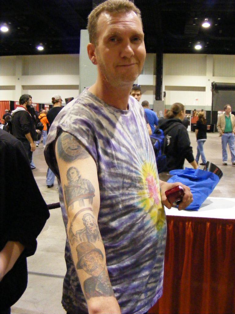 Robert Englund Tattoo Archive 363