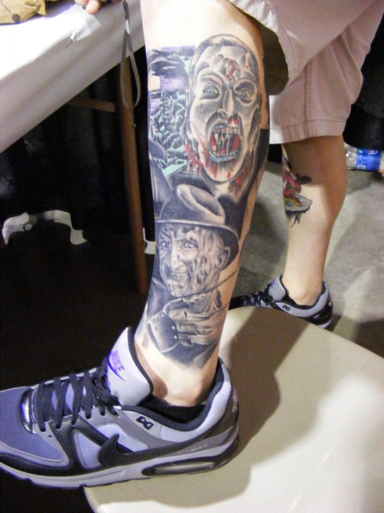 Robert Englund Tattoo Archive 364