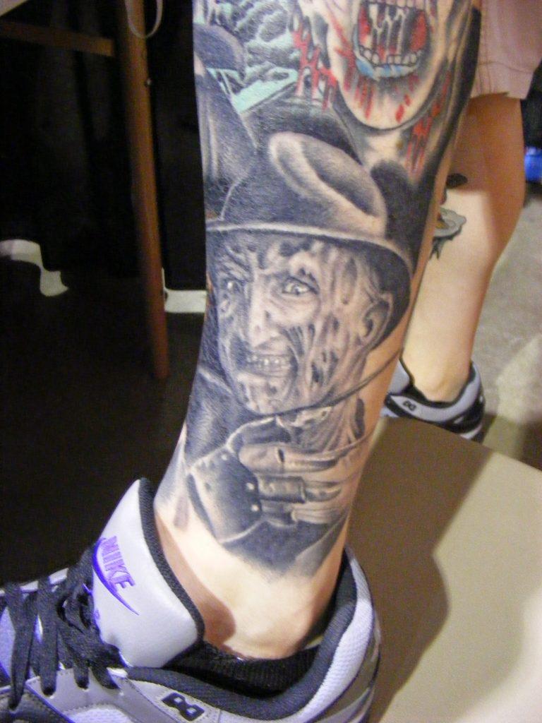 Robert Englund Tattoo Archive 365