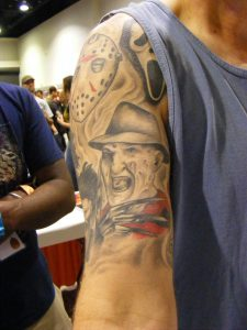 Robert Englund Tattoo Archive 366