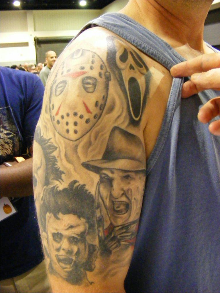Robert Englund Tattoo Archive 367