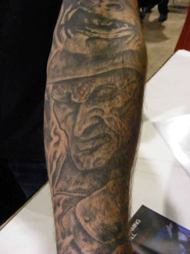 Robert Englund Tattoo Archive 368