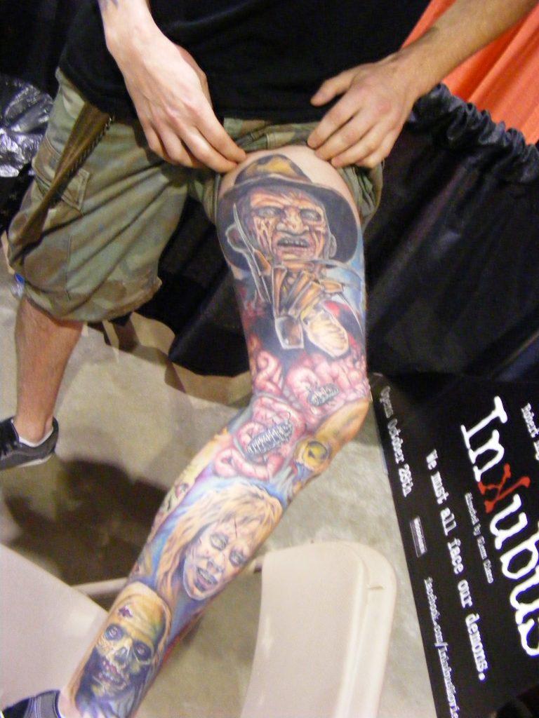 Robert Englund Tattoo Archive 369