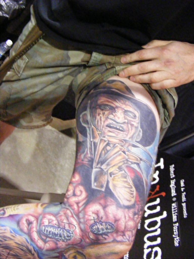 Robert Englund Tattoo Archive 370