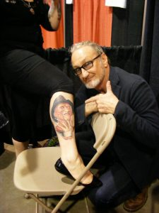 Robert Englund Tattoo Archive 372