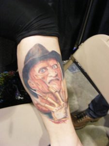 Robert Englund Tattoo Archive 374